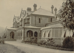 Old Govt House, N. Tal, pulled down by Sir A.P. Macdonnell